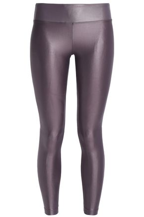 KORAL Lustrous cropped stretch leggings