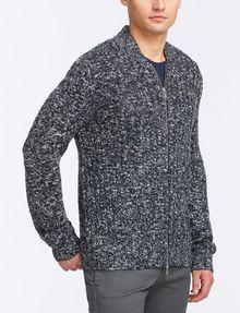 ARMANI EXCHANGE MARLED FULL-ZIP SWEATER Layering Man d