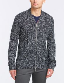 ARMANI EXCHANGE MARLED FULL-ZIP SWEATER Layering Man f