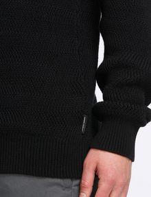 ARMANI EXCHANGE COLORBLOCK SHAWL-COLLAR SWEATER Pullover Man e