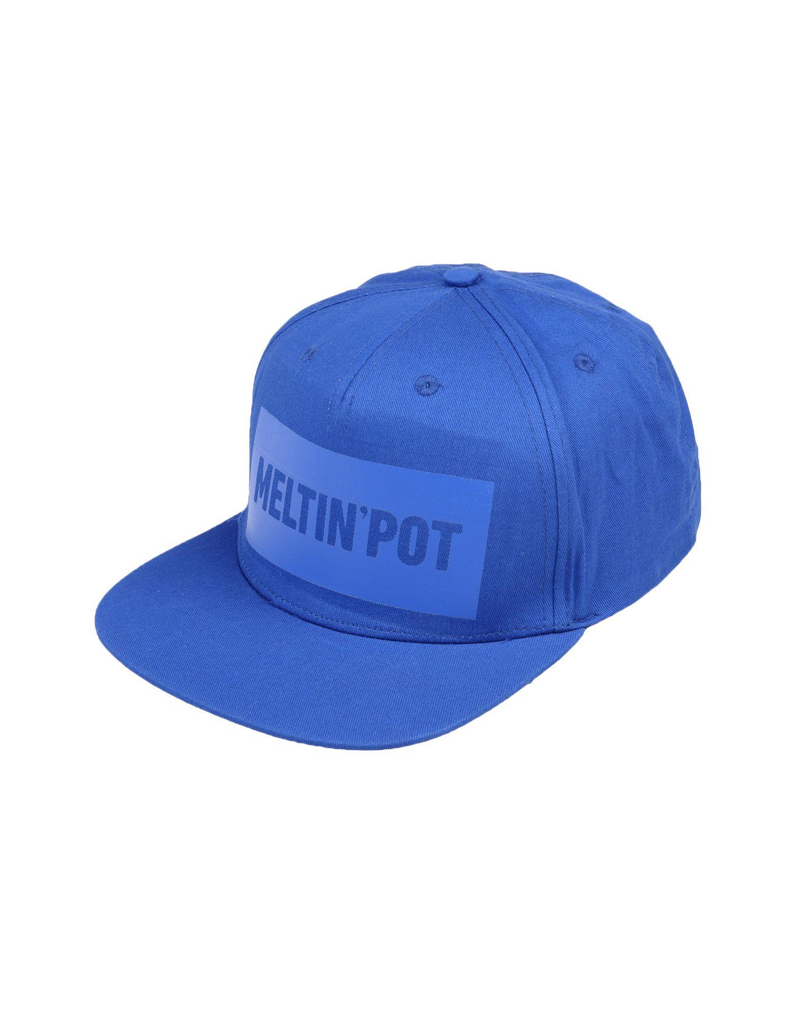 《送料無料》MELTIN POT メンズ 帽子 ブルー one size コットン 100%