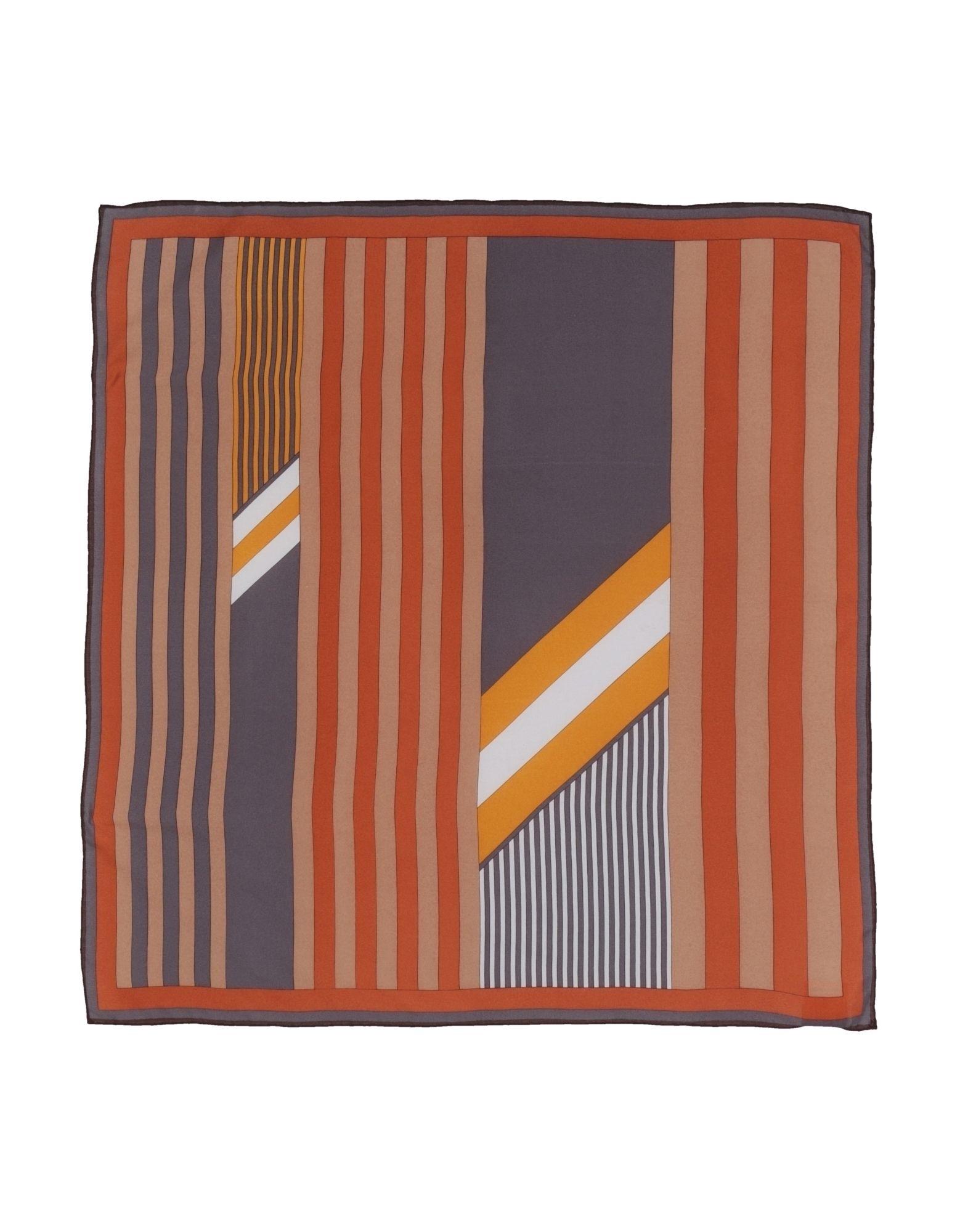 BECKSONDERGAARD Платок платок в полоску флуоресцентный