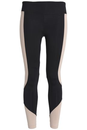 KORAL Two-tone stretch leggings