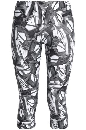 BODYISM Printed stretch leggings