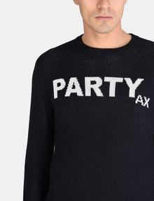 ARMANI EXCHANGE PARTY INTARSIA SWEATER Pullover Man e
