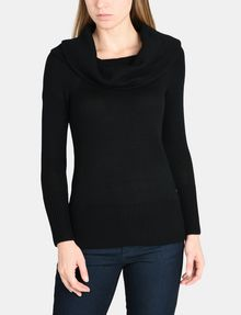ARMANI EXCHANGE DELICATE COWLNECK SWEATER Pullover Woman f