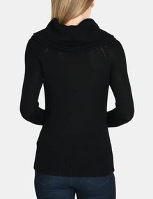 ARMANI EXCHANGE DELICATE COWLNECK SWEATER Pullover Woman r