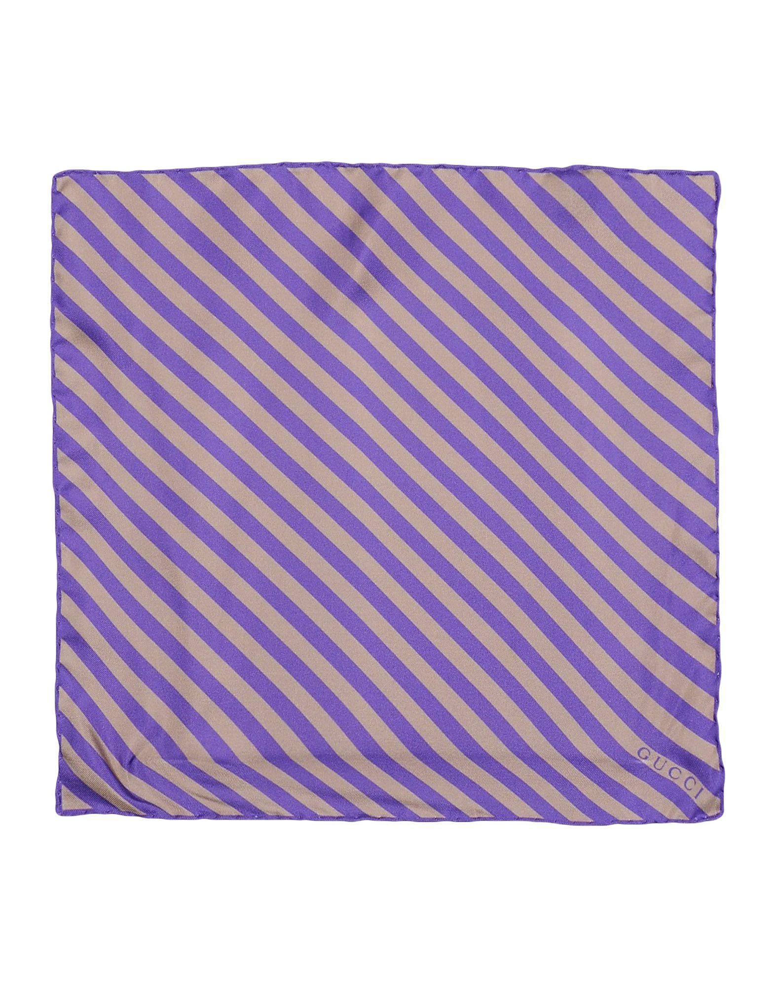 GUCCI Платок платок в полоску флуоресцентный