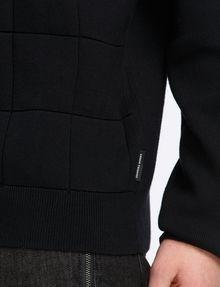 ARMANI EXCHANGE TONAL DIAMOND-STITCH SWEATER Pullover Man e
