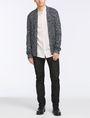 ARMANI EXCHANGE MICRO-GEO PRINT SHIRT Short sleeve shirt Man a