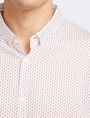 ARMANI EXCHANGE MICRO-GEO PRINT SHIRT Short sleeve shirt Man e
