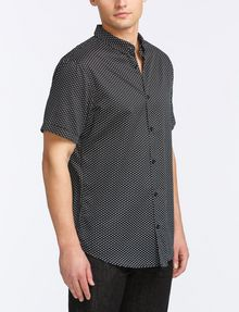 ARMANI EXCHANGE MICRO-GEO PRINT SHIRT Short sleeve shirt Man d