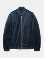ARMANI EXCHANGE VELVET FULL-ZIP BOMBER Jacket Man b