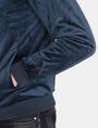 ARMANI EXCHANGE VELVET FULL-ZIP BOMBER Jacket Man e