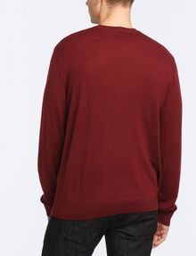 ARMANI EXCHANGE CLASSIC LAYERING CREWNECK SWEATER Pullover Man r