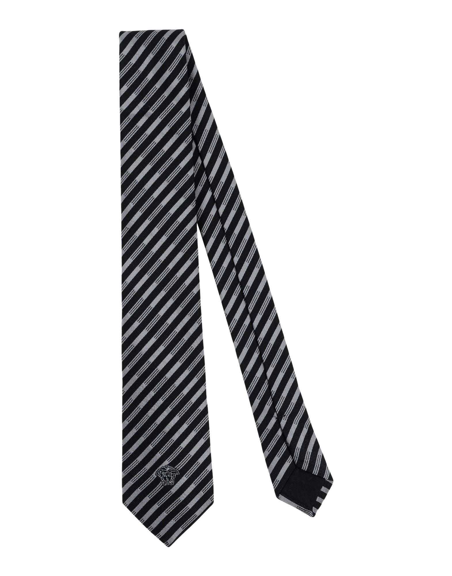 VERSACE Галстук versace бордовый галстук в клетку внизу с логотипом versace 821752 page 5