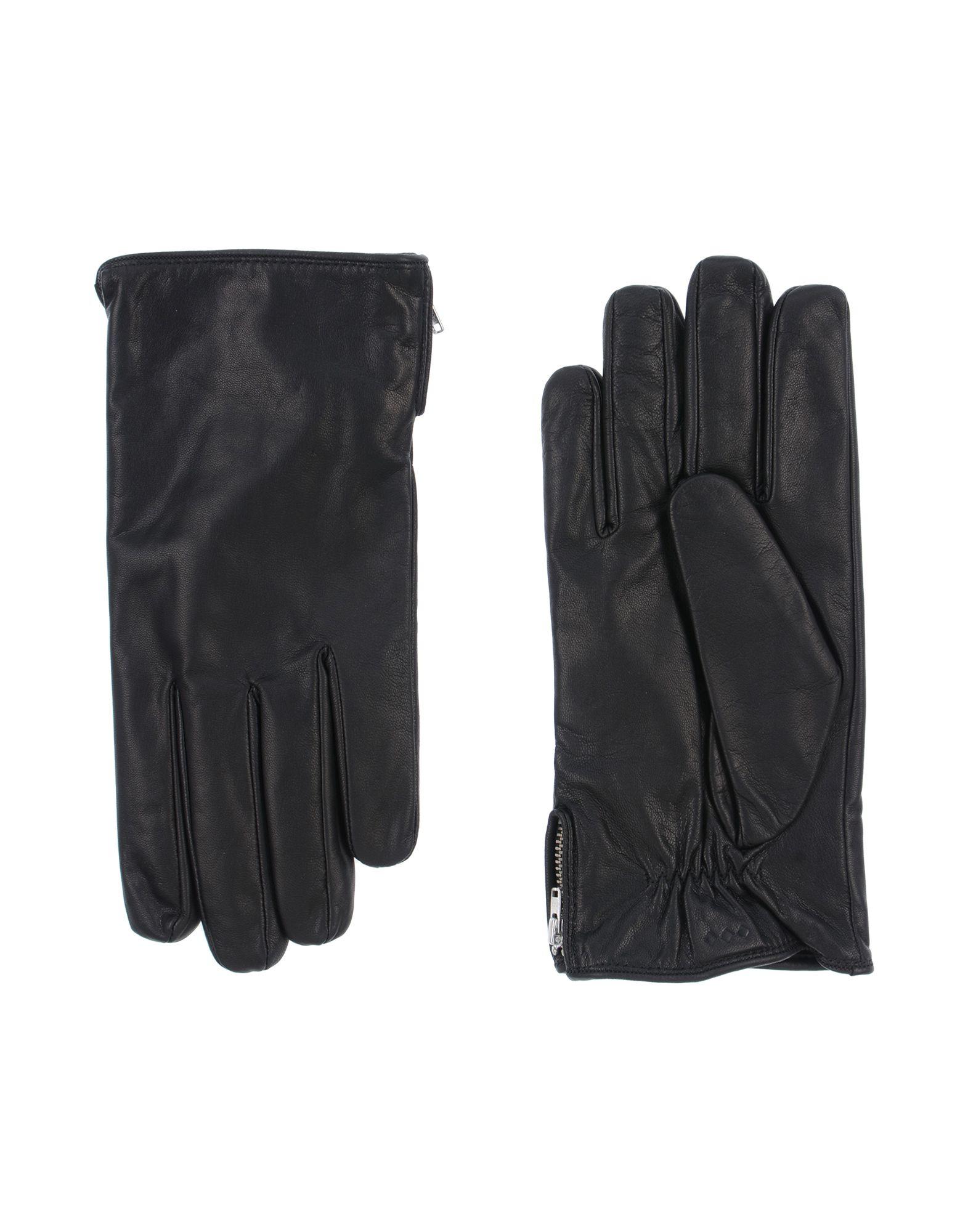 《送料無料》ROYAL REPUBLIQ メンズ 手袋 ブラック 10 革