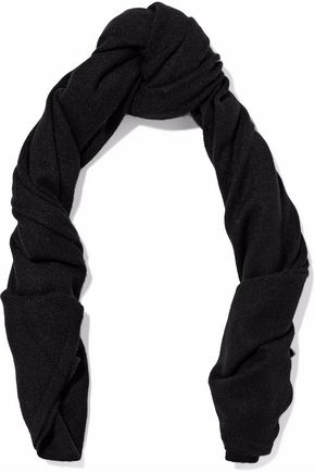 DUFFY Ribbed-knit cashmere scarf