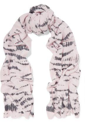 AUTUMN CASHMERE Tie-dyed cashmere wrap
