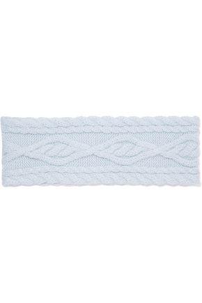 AUTUMN CASHMERE Cable-knit cashmere headband