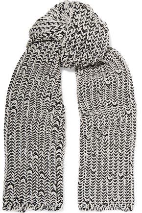 RAG & BONE Sandra mélange wool-blend scarf