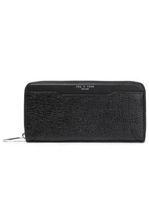 RAG & BONE Crosby textured-leather wallet