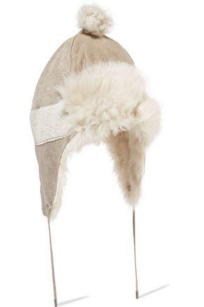 KARL DONOGHUE Shearling hat