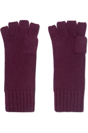 N.PEAL Cashmere fingerless gloves