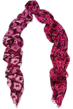 DIANE VON FURSTENBERG Printed modal scarf