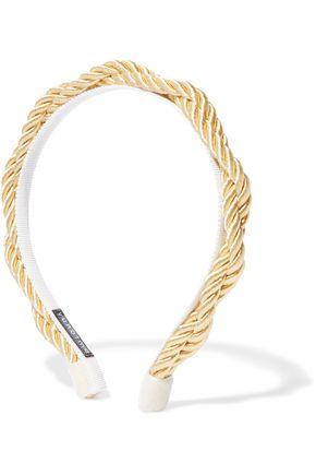 YUNOTME Charlize satin rope headband