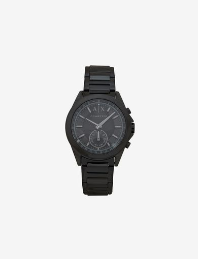 BLACK HYBRID BRACELET WATCH