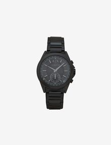 ARMANI EXCHANGE BLACK HYBRID BRACELET WATCH Watch E f