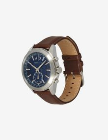 ARMANI EXCHANGE HYBRID BROWN LEATHER BAND WATCH Uhr E r