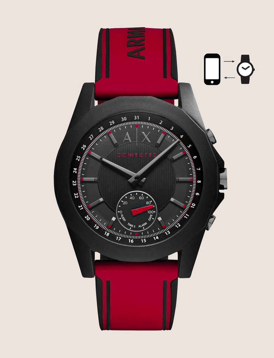 Armani Exchange Connected Men s Watches   A X Store ‎ ‎ d6c28e0eb1