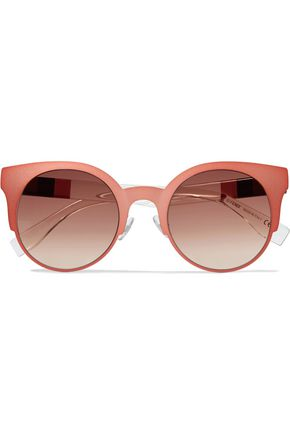 FENDI Cat-eye aceate sunglasses