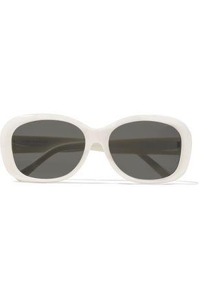 SAINT LAURENT SL 119 MEL square-frame acetate sunglasses