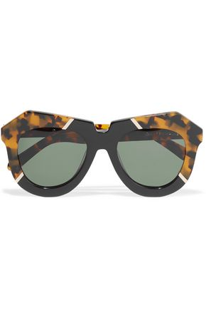 KAREN WALKER One Splash acetate glasses