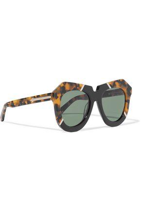 KAREN WALKER One Splash acetate glasses