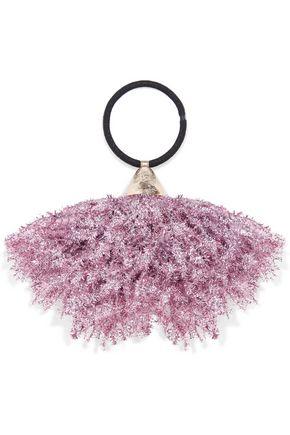 ROSANTICA Fluffy tinsel hair tie