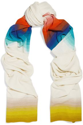 MISSONI Striped wool wrap