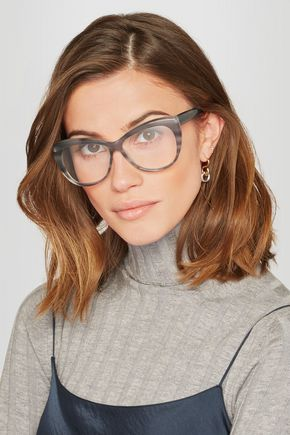 b63bbae5f77 ELIZABETH AND JAMES Clarence cat-eye acetate optical glasses