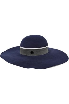 MAISON MICHEL Lucia wide-brim rabbit-felt hat