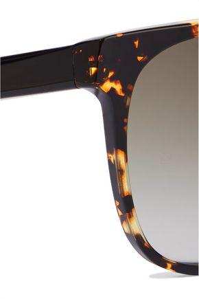 VICTORIA BECKHAM Refined Classic square-frame tortoiseshell acetate sunglasses