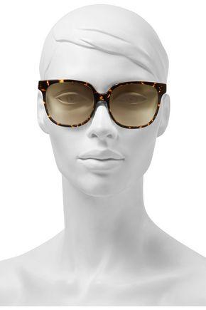 c31a5a5dd7a VICTORIA BECKHAM Refined Classic square-frame tortoiseshell acetate  sunglasses