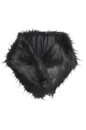 CHARLOTTE.SIMONE Faux fur scarf