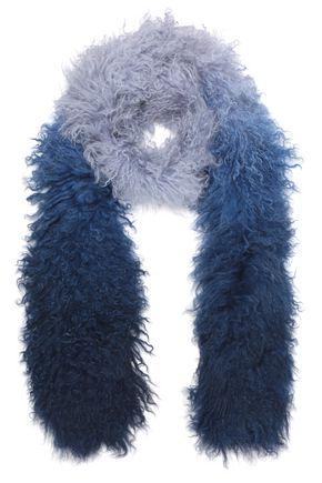 CHARLOTTE.SIMONE Shearling scarf