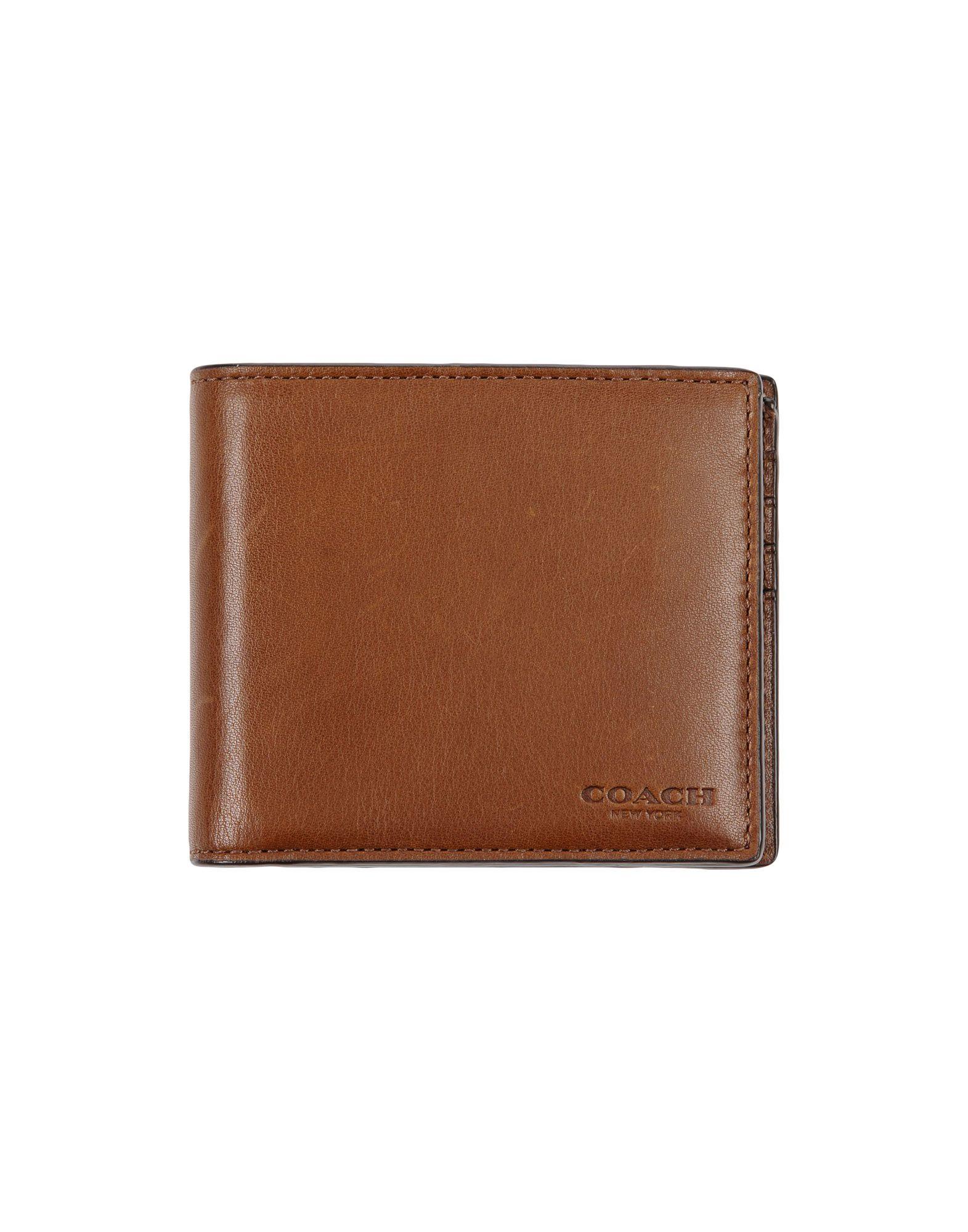 メンズ COACH 財布  カーキ