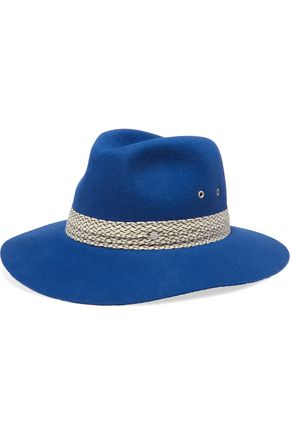 MAISON MICHEL Embroider-trimmed fedora