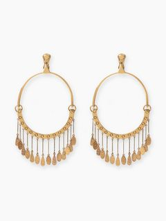 Quinn hoop earrings