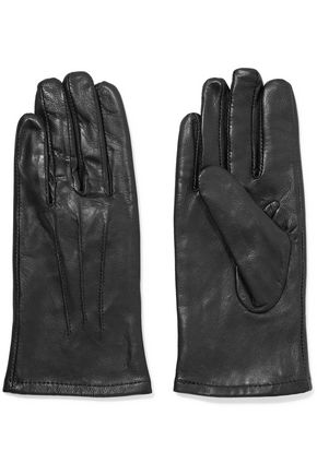 Y-3 + adidas faux leather gloves
